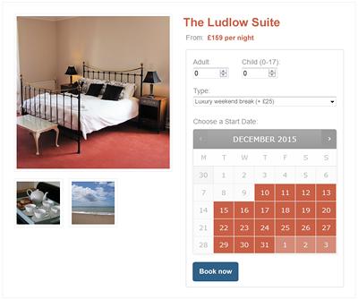 online booking system for shropshire tourism websites